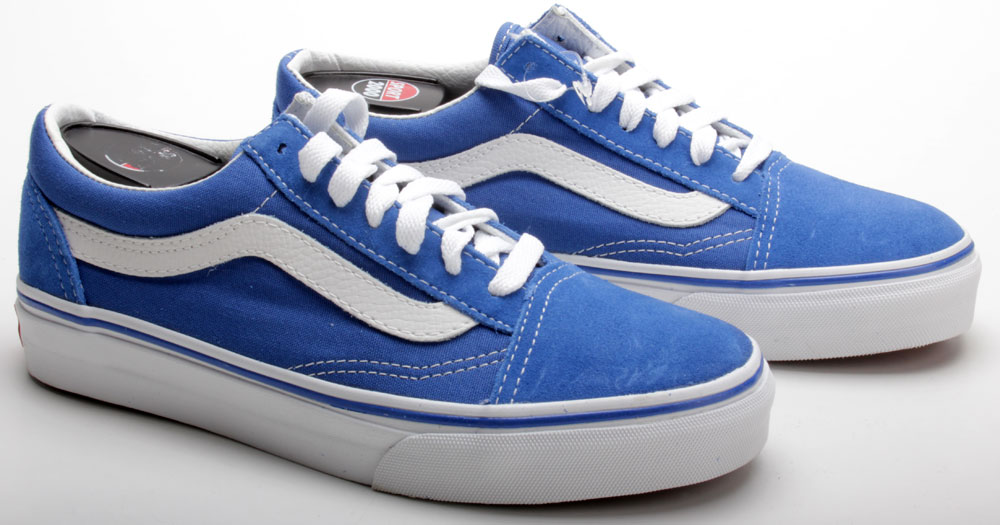 vans schuhe old skool d3h0fg classic blue true white blau. Black Bedroom Furniture Sets. Home Design Ideas