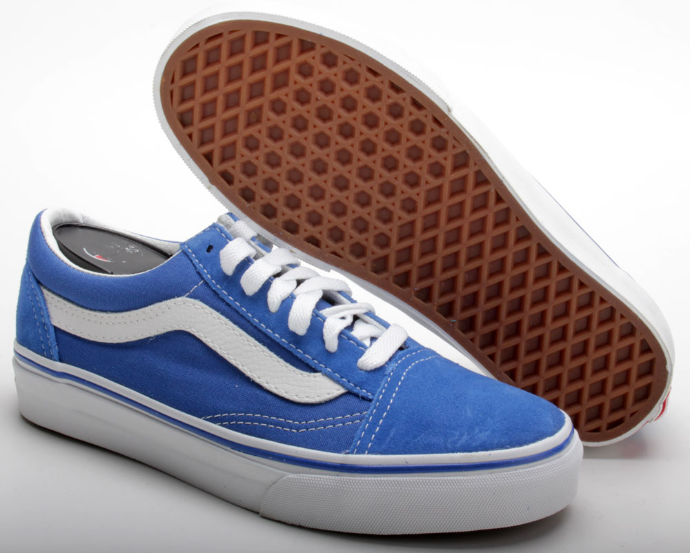 blaue vans old skool
