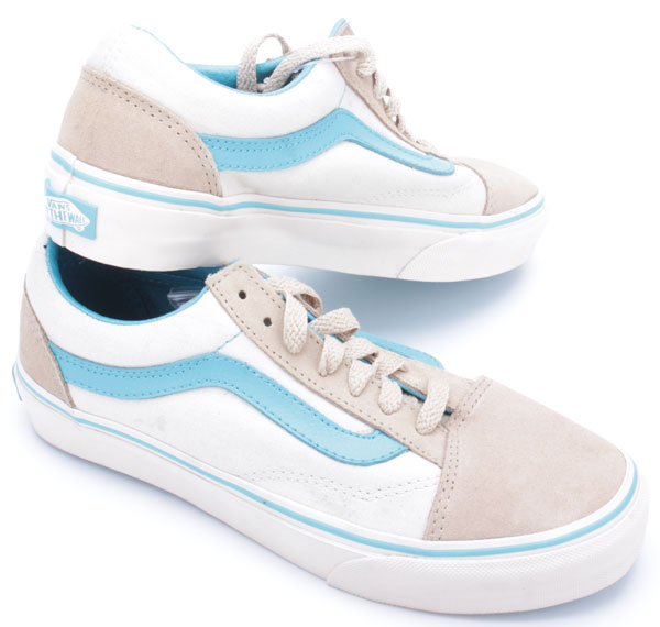 vans old skool vn o d3ha8t khaki lake blue ebay. Black Bedroom Furniture Sets. Home Design Ideas